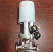 卫生级电动隔膜阀/卫生级快装电动隔膜阀/精小型电动快装隔膜阀