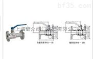 不銹鋼整體高溫球閥  臺灣富山閥門   品質保證
