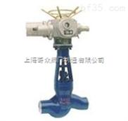 焊接电动截止阀 上海钰欧阀门 品质保证