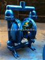 供应QBY-10工程塑料隔膜泵 塑料气动隔膜泵 铝合金气动隔膜泵