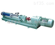 G系列整体不锈钢卫生螺杆泵
