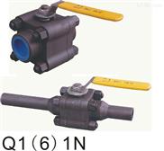 三片式锻钢球阀(Q61F、Q11F)