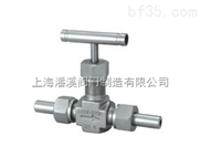 【外螺纹针型阀】型号J23W-320P外螺纹针型阀规格-上海潘溪阀门