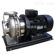 不锈钢卧式单级离心泵  管道泵