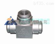 CNG對焊高壓三通