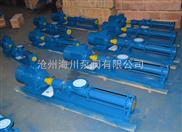 供應海川渣油、污油G系列單螺桿泵