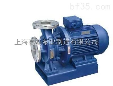 ISW80-160B上海卧式管道增压泵ISW型,卧式增压管道泵