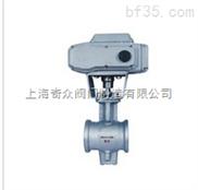 电子式电动V型调节球阀 上海精工阀门 品质保证