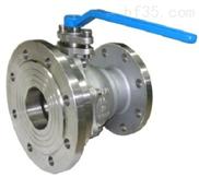 钛材气动/电动放料球阀