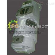 东京计器低噪音定量三联叶片泵 SQP321-21-10-5-86CCC-18