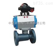 气动塑料球阀  中国冠龙阀门机械有限公司