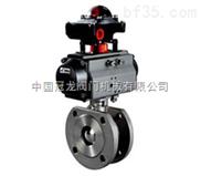对夹式气动球阀 中国冠龙阀门机械有限公司