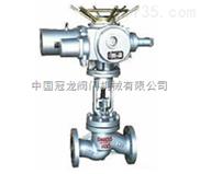 电动柱塞截止阀 中国冠龙阀门机械有限公司