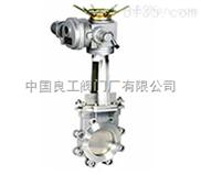 PZ943電動刀閘閥、不銹鋼刀型電動閘閥