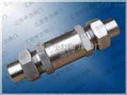 H21X-320P錐密封天然氣專用不銹鋼止回閥