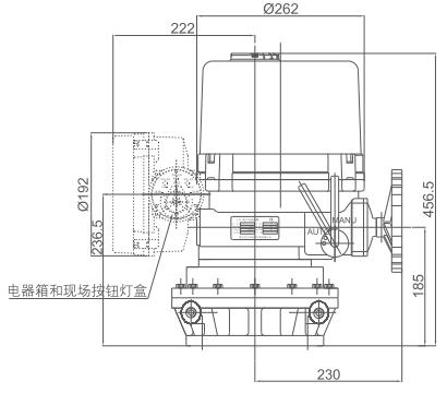 电动执行器 lq4jsex-200