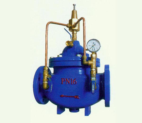 在消防系统中如何设计泄压阀图片